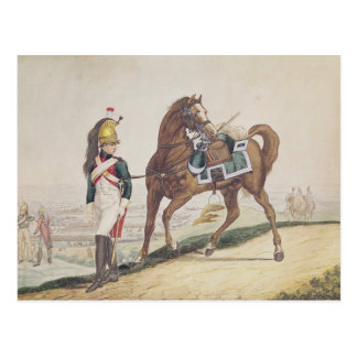 Dragoons of the French Imperial Army Postcard