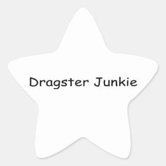 Dragster Junkie By Gear4gearheads Star Sticker