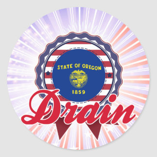 Drain, OR Stickers