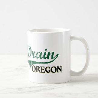 Drain Oregon Classic Design Classic White Coffee Mug
