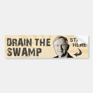 Drain The Swamp Bumper Sticker