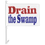 Drain The Swamp Car Flag