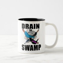Drain the Swamp Donald Trump Red Coffee Cup Mug