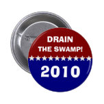 Drain the swamp! pinback buttons