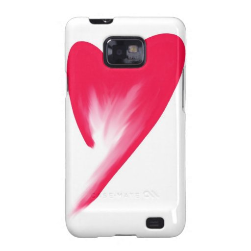 Draining Heart Samsung Galaxy SII Covers