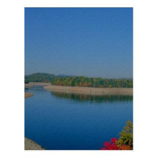 Draining The Lake Postcard