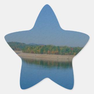 Draining The Lake Star Sticker