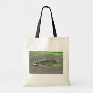 Draining Wetland Tote Bag