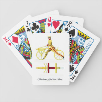 Draisine Playing Cards