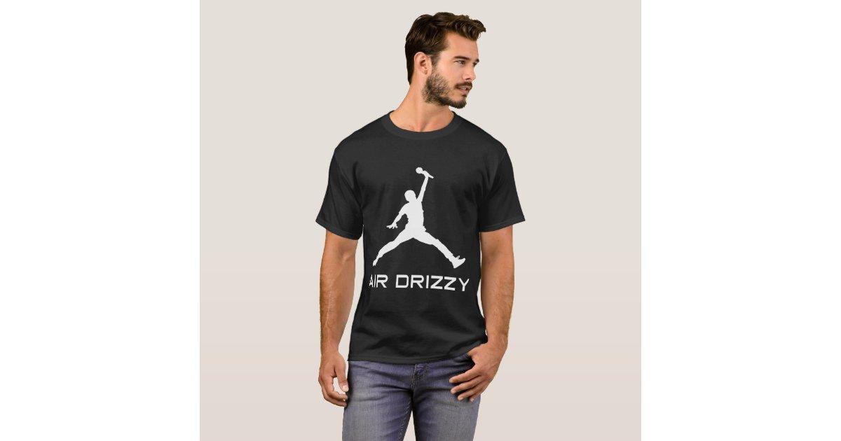 b5fea1452ab6ad Drake Air Drizzy Jordan Jumpman Parody Funny Humor T-Shirt
