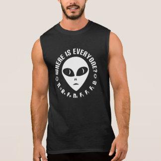 Drake Equation vs Fermi Paradox Sleeveless Shirt