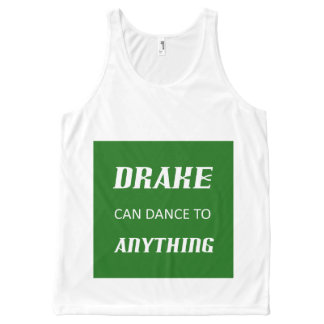 Drake Mania V All-Over-Print Tank Top