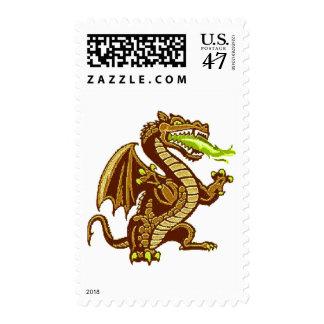 Draken Gold Stamp