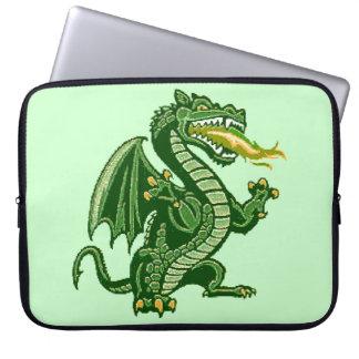Draken Green Computer Sleeves