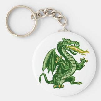 Draken Green Keychain
