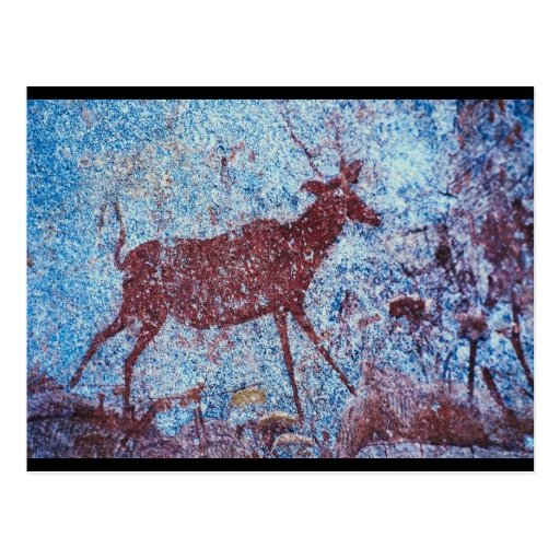 Drakensberg Cave Painting Post Cards