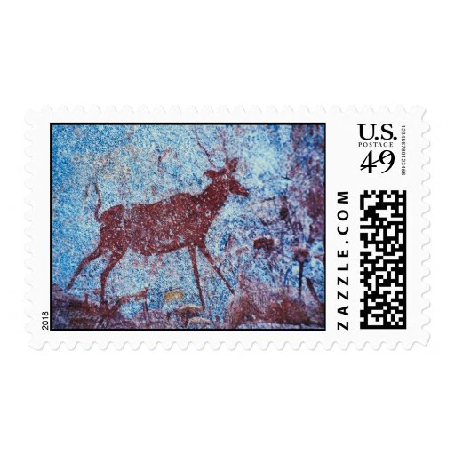 Drakensberg Cave Painting Stamp