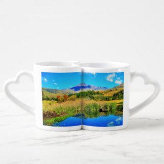 Drakensburg Kwa Zulu Natal Coffee Mug Set