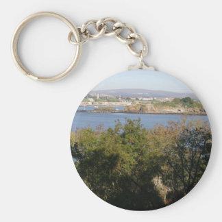 Drakes Island, Plymouth, UK Keychain