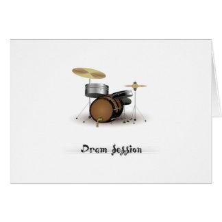 Dram session card