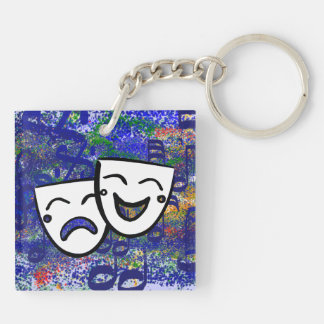 Drama: A Musical Splash Keychain