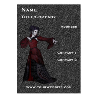 Drama Actress on Stage Cards Large Business Cards (Pack Of 100)