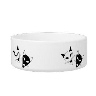 Drama Cat Masks Bowl