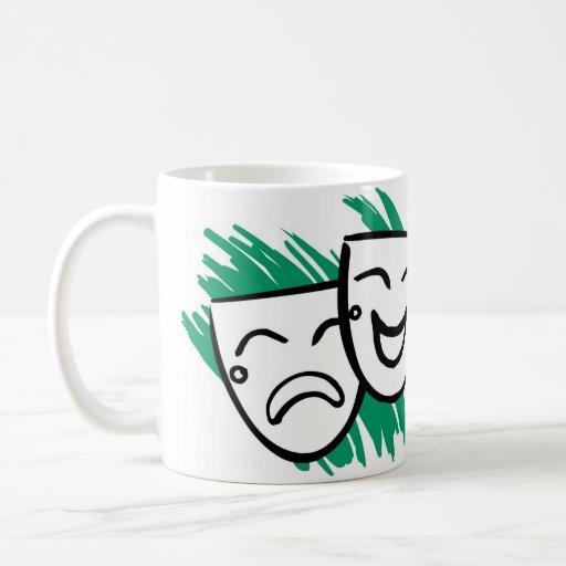 Drama Classic White Coffee Mug