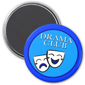 Drama Club Badge Blues Magnet