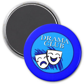 Drama Club Badge Magnet