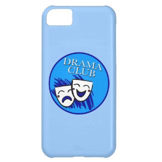 Drama Club Badge: Splash of Blues Cover For iPhone 5C