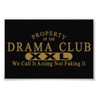 Drama Club Photo Print