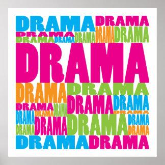 Drama colorido poster