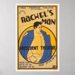 Drama de Andrew Jackson WPA 1937 Poster
