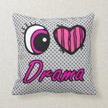 Drama del amor del corazón I del ojo de Emo
