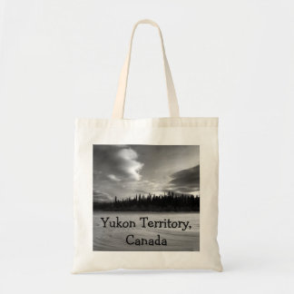 Drama del invierno; Territorio del Yukón, Canadá Bolsa Tela Barata