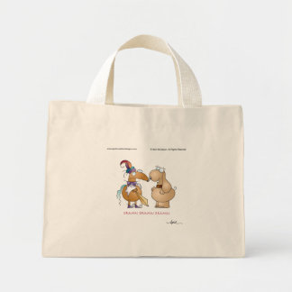 DRAMA! DRAMA! DRAMA! by April McCallum Mini Tote Bag