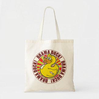 Drama Duck Budget Tote Bag
