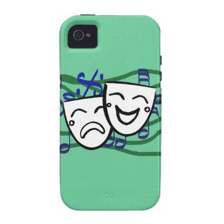 Drama el Musical Case-Mate iPhone 4 Carcasa