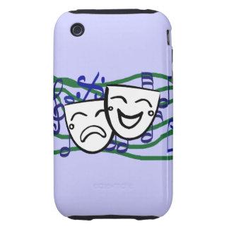 Drama el Musical Tough iPhone 3 Cárcasa