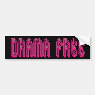 Drama Free Bumper Sticker