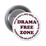 Drama Free Zone Button