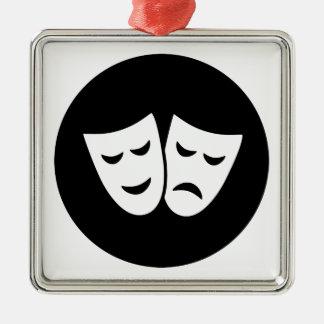 Drama Ideology Metal Ornament