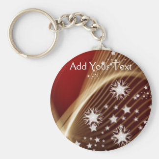 Drama in Red Keychain