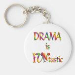 Drama is FUNtastic Keychain