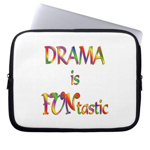 Drama is FUNtastic Laptop Computer Sleeve