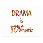 Drama is FUNtastic Postcard