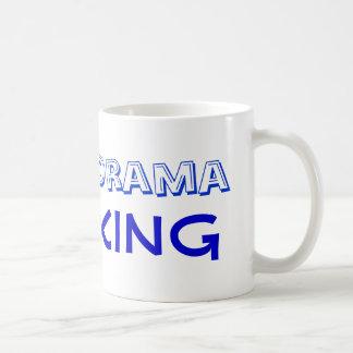 Drama King - Any Color - Customize Classic White Coffee Mug
