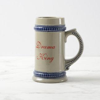 Drama King with Drama King in script letters Coffee Mug