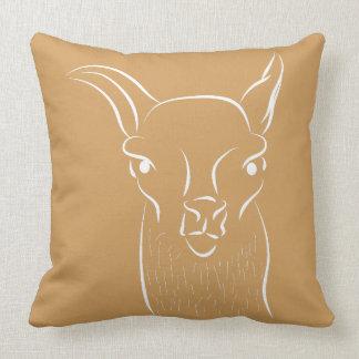Drama lama cushion / pillow